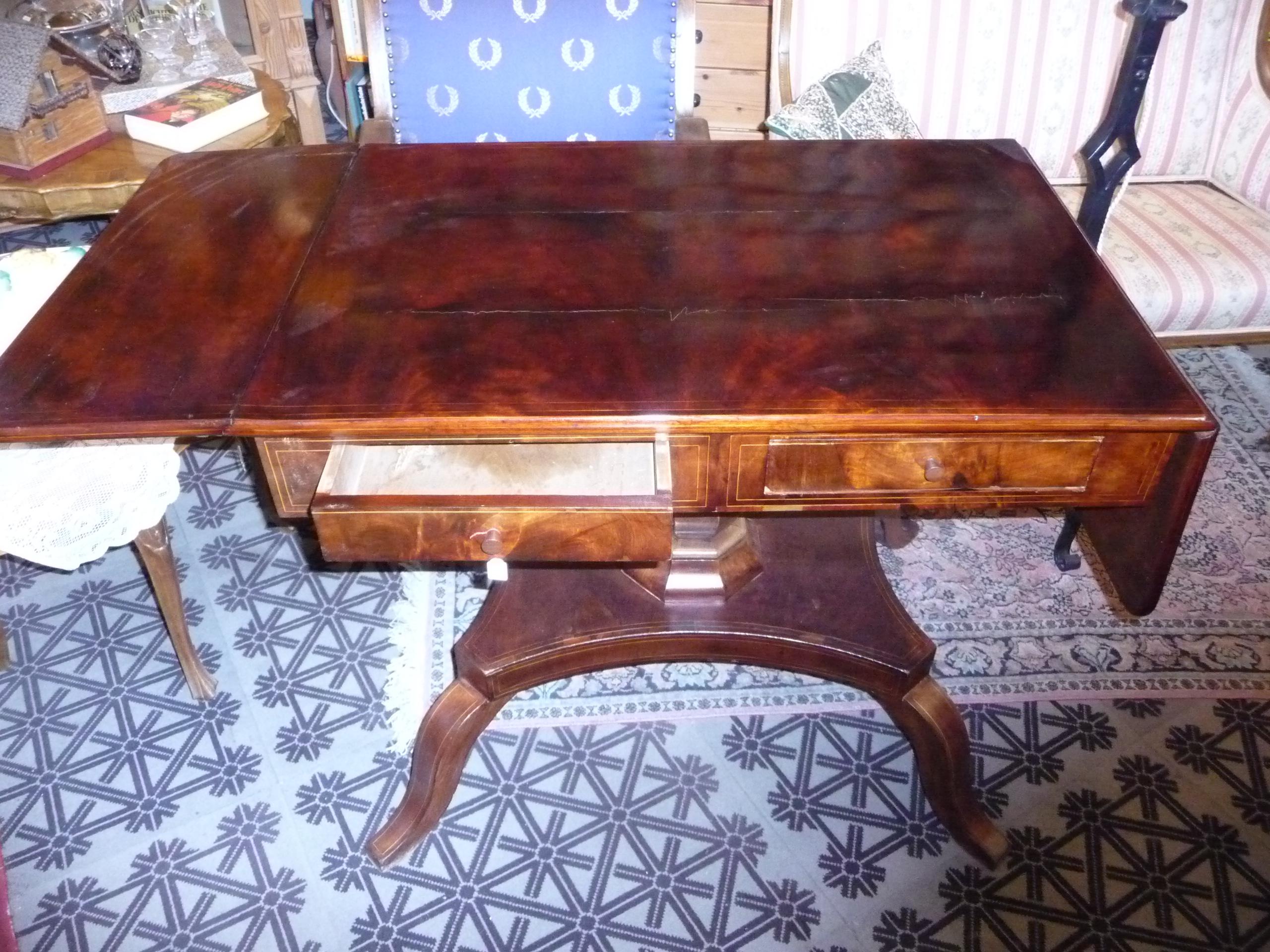 Biedermeier Schreibtisch Antikmöbel